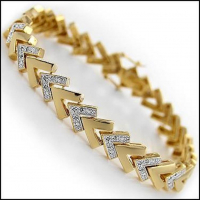 0.67 CT Diamond Designer Elegant Bracelet