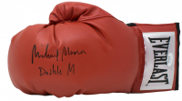"""Michael Moorer Signed Everlast Boxing Glove Inscribed """"Double M"""" (JSA COA) at PristineAuction.com"""