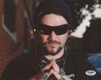 "Bam Margera Signed ""Jackass"" 8x10 Photo (PSA COA)"