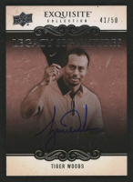 2014 Exquisite Collection Legacy Autographs #LSWO Tiger Woods