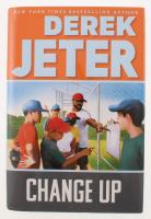 """Derek Jeter Signed """"Change Up"""" Hard Cover Book (JSA COA)"""