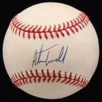 Alan Trammell Signed OAL Baseball (JSA COA)
