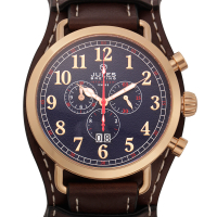 Jules Breting Discovery One Men's Swiss Chronograph Watch at PristineAuction.com