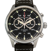 Tschuy-Vogt SA AC1 Sentinel Men's Swiss Chronograph Watch at PristineAuction.com