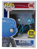 "Jamie Foxx Signed ""The Amazing Spider-Man 2"" Electro #46 Funko Pop! Vinyl Figure (JSA COA)"