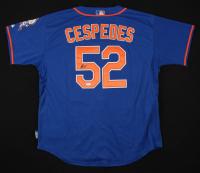Yoenis Cespedes Signed New York Mets Jersey (JSA COA)