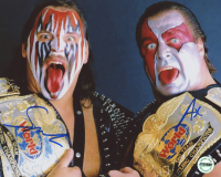 "Ax & Smash Signed ""Demolition"" 8x10 Photo (Fiterman Sports Hologram)"