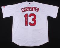 Matt Carpenter Signed St. Louis Cardinals Jersey (Beckett COA)
