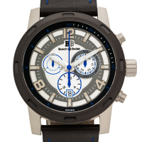 Buech & Boilat Baracchi Men's Swiss Chronograph Watch at PristineAuction.com