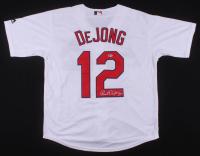 Paul DeJong Signed St. Louis Cardinals Jersey (Beckett COA)