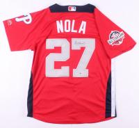 Aaron Nola Signed 2018 National All-Star Game Jersey (Beckett COA)