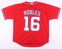Victor Robles Signed Washington Nationals Jersey (PSA COA)