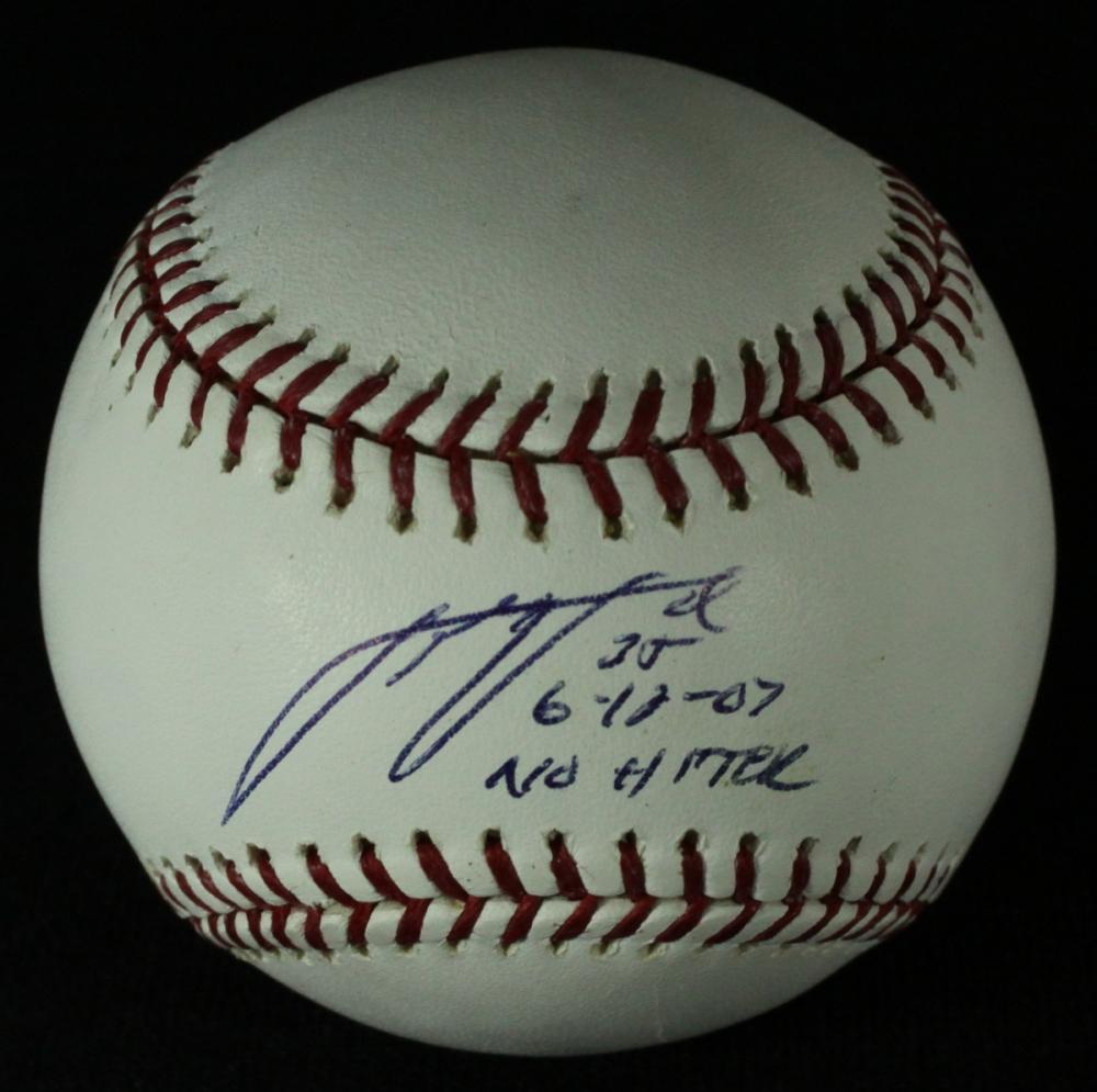 ea870a0fae9 Justin Verlander Signed OML Baseball Inscribed