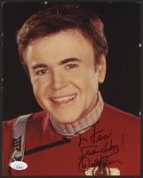 "Walter Koenig Signed ""Star Trek"" 8x10 Photo (JSA COA)"