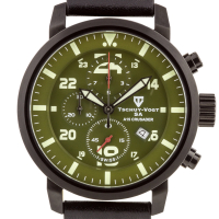 Tschuy-Vogt SA A15 Crusader Men's Swiss Chronograph Watch at PristineAuction.com