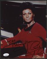 "Nichelle Nichols Signed ""Star Trek"" 8x10 Photo Inscribed ""Bless You"" (JSA COA)"