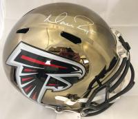 Matt Ryan Signed Atlanta Falcons Full-Size Chrome Speed Helmet (Fanatics Hologram) at PristineAuction.com