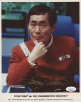 "George Takei Signed ""Star Trek"" 8x10 Photo (JSA COA)"