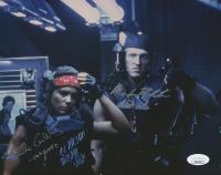 "Jenette Goldstein & Mark Rolstron Signed ""Alien Explorations"" 8x10 Photo with (2) Inscriptions (JSA COA)"