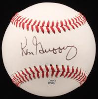 Ken Griffey Sr. Signed Official California League Baseball (JSA COA)