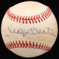 Mickey Mantle Signed OAL Baseball (JSA ALOA)