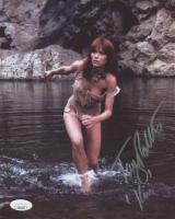 "Tanya Roberts Signed ""The Beastmaster"" 8x10 Photo Inscribed ""Kiri"" (JSA COA)"