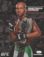 Demetrious Johnson Signed UFC 8.5x11 Photo (JSA COA)