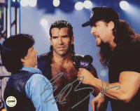 Eric Bischoff Signed WWE 8x10 Photo (Fiterman Sports Hologram)