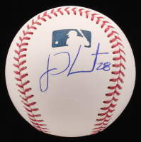 J. D. Martinez Signed OML Baseball (Beckett COA)