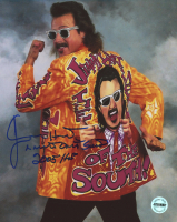 "Jimmy Hart Signed WWE 8x10 Photo Inscribed ""Mouth of the South"" & ""2005 HOF"" (Fiterman Sports Hologram)"