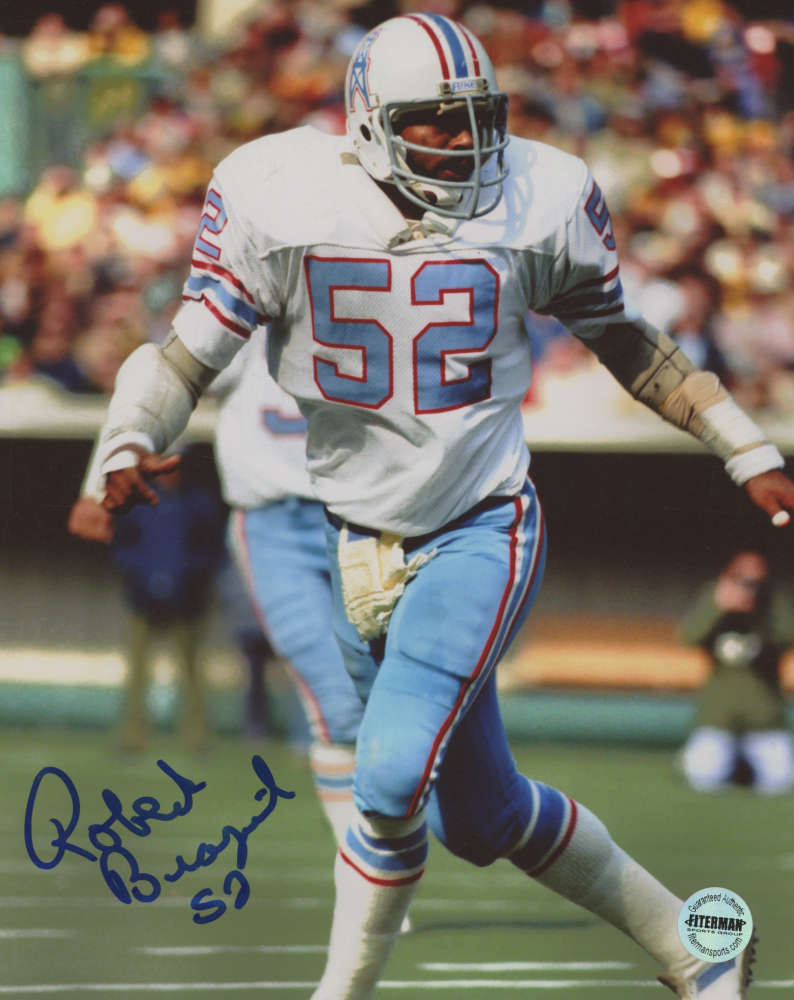 Robert Brazile Signed Houston Oilers 8x10 Photo (Fiterman Sports Hologram) at PristineAuction.com