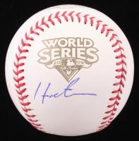 Hideki Matsui Signed Official 2009 World Series Baseball (Beckett COA)