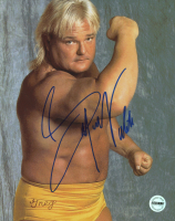 Greg Valentine Signed WWF 8x10 Photo (Fiterman Sports Hologram)