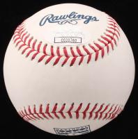 Tom Glavine Signed OML Hall of Fame Logo Baseball (JSA COA) at PristineAuction.com