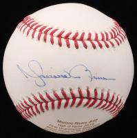 Mariano Rivera Signed LE OML Baseball with Career Highlight Stat Engravement (JSA COA)