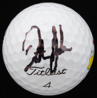 Dustin Johnson Signed Masters Logo Golf Ball (Beckett COA)