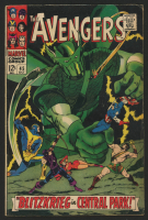 "1967 ""The Avengers"" Issue #45 Marvel Comic Book"