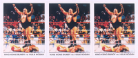 Lot of (3) King Kong Bundy Signed 8x10 Photos (JSA COA)