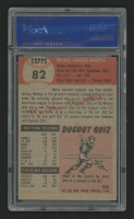 1953 Topps #82 Mickey Mantle (PSA 5) at PristineAuction.com
