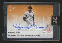 2018 Topps Now Offseason Autographs Gold #OS64F Mariano Rivera