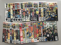 """Lot of (41) 1986-1998 """"X-Factor"""" 1st Series Marvel Comic Books from #4-146"""