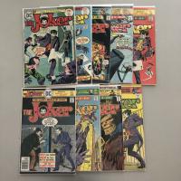 "Complete Set of (9) 1975-1976 ""The Joker"" DC Comic Books"