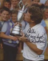 "Tom Watson Signed 8x10 Photo Inscribed ""All My Best!"" (Beckett COA)"