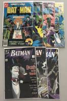 "Lot of (7) 1977 ""Batman"" DC Comic Books with #291, #294, #321, #353, #429, #450, & #451"