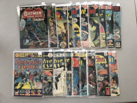 """Lot of (19) 1937 """"Detective"""" 1st Series DC Comic Books from #401-468"""