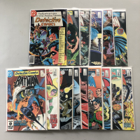 """Lot of (15) 1981-1985 """"Detective Comics"""" 1st Series DC Comic Books from #500-550"""