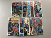 """Lot of (13) 1985-1986 """"Detective Comics"""" 1st Series DC Comic Books with #552-565"""