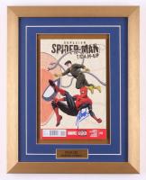 """Stan Lee Signed 13.5x17 2013 """"Superior Spider-Man Team-Up"""" #12 Custom Framed Comic Book Display (JSA COA)"""