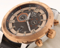 Ulysse Girard Bombardier Men's Swiss Chronograph Watch at PristineAuction.com