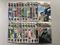 """Lot of (24) 1985-1987 """"Web of Spider-Man"""" 1st Series Marvel Comic Books with #2-26"""